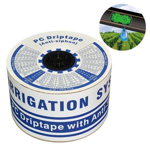 500m gros / rouleau 16 mm * 0,6 mm PC Dripline Avec Anti-Siphon Compensation de pression goutte à goutte Ruban agricole irrigation goutte à goutte Tuyau