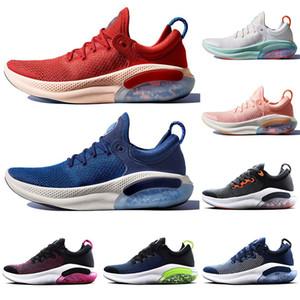 2019 Nike Air Free Joyride Run Fly Zapatillas de running para hombre Triple Black Mesh Kint Blue Volt White Sail University Red Zapatillas de deporte Zapatillas deportivas