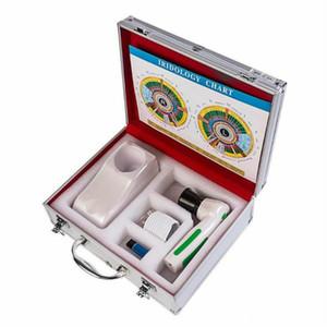 أحدث 12.0 النائب الرقمية iridology الكاميرا المهنية نظام تشخيص العين Iriscope القزحية الماسح الضوئي محلل CE