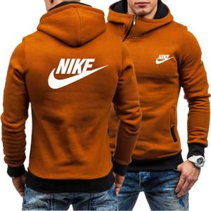 2020 새로운 디자이너 럭셔리 남성 여성 까마귀 인쇄 NIKE 의류 브랜드 후드 스웨터 코트 스포츠 스웨터 캐주얼 셔츠 스포츠웨어