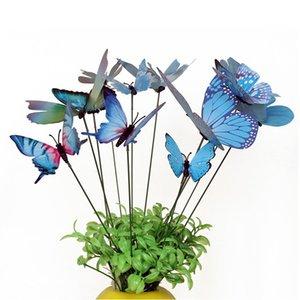 12 조각 정원 마당 화분 나비 스테이크 잔디 장식 장식품