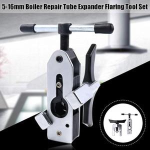 5-16mm Expander Tube Heat Exchanger pratique Réfrigérateur condenseur Dudgeonnière Set Chaudière Radiateur Pour Excentrique conique Type