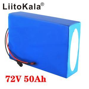 batteria 72V batteria al litio scooter elettrico LiitoKala 20S 72V 20Ah 25AH 30Ah 40Ah 35AH 45AH 50Ah bicicletta elettrica 21700 5000mAh delle cellule con BM