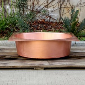 square copper bathroom sink washbasin small household washbasin china sink copper product