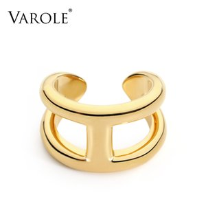 VAROLE Brand Rings Contracted Fashion Midi Ring Fashion Knuckle Rings For Women Jewelry Bagues Anillos