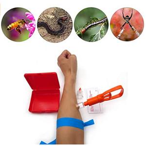Outdoor Foresta primo strumento di sicurezza Fast Aid Kit di emergenza Venom Extractor Snake Bite Velenospina Aspiratore gomma Extractor