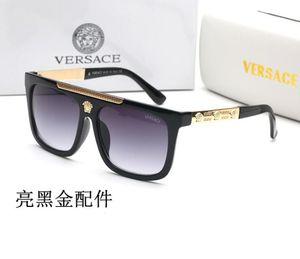 9264 جديد ساحة فاخر نظارات شمس ماركة مصمم السيدات المتضخم كريستال نظارات المرأة إطار كبير مرآة نظارات الشمس للإناث uv400
