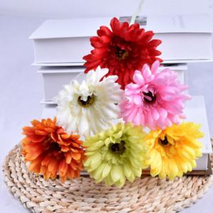 Eco-Friendly tocco reale Gerbera Daisy Bouquet per la sposa Wedding Flowers Bouquet da sposa Decoratiion 50 centimetri alto