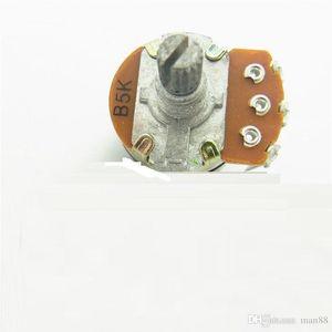 WH138 einzigen dreipoligen B5K Potentiometer mit Schalter Dimmer Länge 15mm Schaltknauf