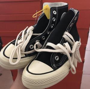 2019 New Chuck Classic All 1970S Холст Обувь Высокого Качества Звезда Дизайнер Холст Обувь Мужская Женская Высокий Классический Скейт Повседневная Обувь 36-44