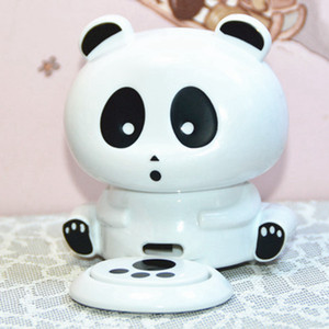 Cute Panda Manicure Nail Dryers Polish Blower Dryer Nails Nail Art Dryer Finger Toe Fast Drying Dry Machine Tool RRA2554