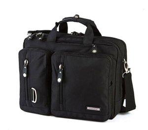 Kol ve Omuz askısı ile FreeBiz Laptop Çanta Çok fonksiyonlu Evrak çantası 15 15.6 17 17.3 18 18.4 inç laptop CJ191212 uyar