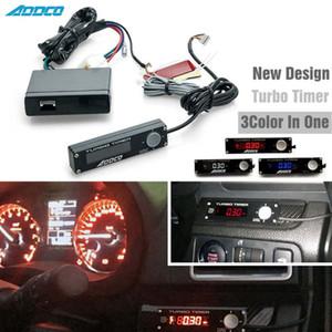 Nueva ADDCO 3 color en un auto universal Turbo Timer Meter dispositivo de estacionamiento LED Tiempo de pico de voltaje retardador digital Función de advertencia AD-YSQ011