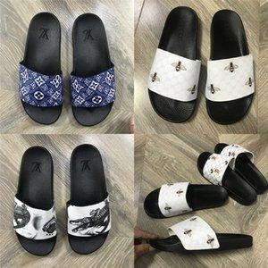Verão New antiderrapantes infantil flip-flops Meninas Moda Praia Shoes Pitada Sandálias Feminino Flores Chinelos mulheres usam # R10 # 484