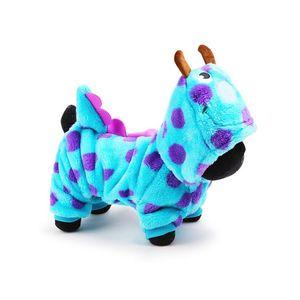 Pet Clothes Lovely Puzzle Bobble Suit Dog Apparel Autunno e Inverno Abbigliamento caldo Moda popolare colore blu 22jk J1