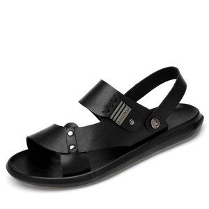 Vendita calda-scarpe di cuoio Wading esterna Mens Sandles pistoni di estate giardino Uomini New Nizza Sandalias Hombre