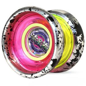 Auldey Blazing Teens YOYO печати Star Зла Professional YOYO Outer Металлическое кольцо Полированный алюминиевый сплав Juguetes De Los Ninos Рождественский подарок 09