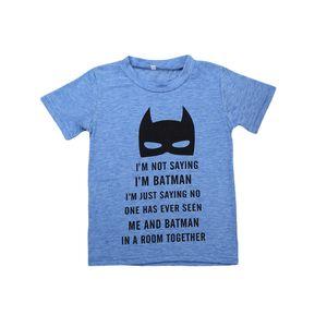 Neue Kleinkind-Baby-Sommer-T-Shirt Baumwolle mit kurzen Ärmeln zufällige Spitze Kleidung Letters 2-7Y