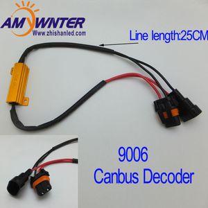 AMYWNTER 9006 50W Hot vente Tourner Singal Résistance de charge pour Fix Lampes de voiture 6ohm voiture Phares anti-brouillard Ampoule rapide Hyper flash 2PCS