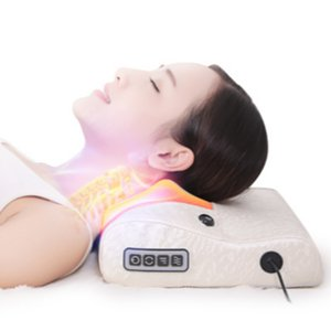 Cervical-Massagegerät, Nacken, Hüfte, Schulter, Rücken, den ganzen Körper elektrische Multifunktionsmassagekissen, household.Neck Massage, Taille Massage ,.