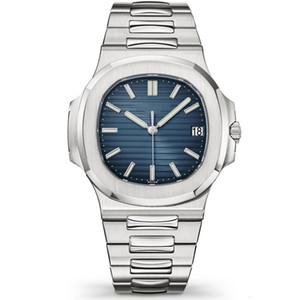 Nautilus 5711 Top Men Watch Mens classico orologio automatico orologio meccanico in acciaio inossidabile Affari Sport impermeabile 30M Sapphire orologio da polso