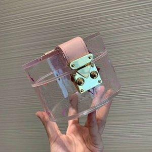 Cosmetic Bag Borse Purses Bustine Trasparenti vendita di alta qualità di ultimo modo del PVC gelatina trasparente Trousse cassa della borsa