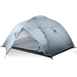 DHL freeshipping 3F UL GEAR 3 Person 4 Season 15D Camping Tent Outdoor Ultralight Hiking Backpacking Hunting Waterproof Tents T191001