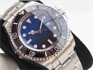 Il movimento automatico della macchina dell'orologio degli uomini ceramici profondi di prezzi all'ingrosso guarda l'orologio degli uomini dell'acciaio inossidabile di 44mm