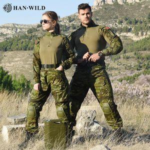 Hunting Pants G3 Suit Tactical Military Uniform Multicam Forces Suit Hunting Pants Combat Shirt Pants Tactics Airsoft Militaire