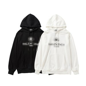 Brand Fashion Sweaters Letters Print Balck White Mens Womens Sweatshirts Casual Youth Sweatshirt Tops Autumn Top Quality Hoodies 2060404V