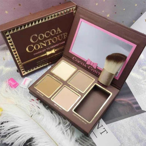 maquillage cocoa contour chiseled to perefection face contouring and highlighting kit kit conntour et illuminateur pour visage free.