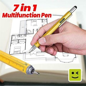 Multifunctional Pen Screwdriver Ballpoint Pen Stand Holder Gift Tool School Office Supplies Stationery Pens