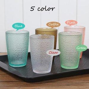 Acrílico Transparente Cup canecas bebendo copos de chá de leite Copos Caneca Vinho Branco Copa reutilizável Better Than vidro Caindo Resistência AN3142