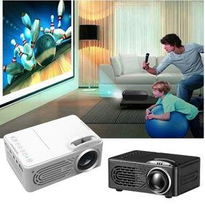 Высокое качество RD-814 LED мини проектор 320 x 240 домашний кинотеатр Proyector поддержка 1080P портативный VS YG300 идеально подходит для кино DHL доставка