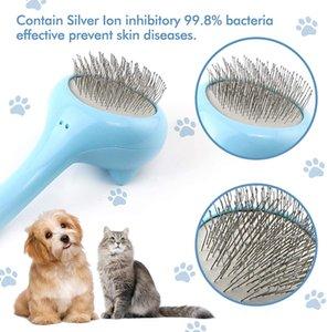 Elegant Cat rasqueadeira Seguro Confortável gatinho Cerda ergonômico Comb Pet Grooming ferramentas para remover solto Undercoat