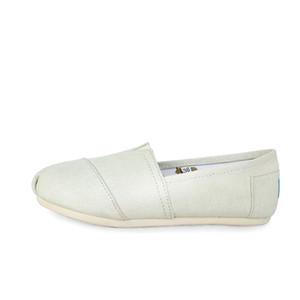 07-13 Z07 primavera otoño mujeres lindas impresas zapatos de tela de lino para mujer resbalón en zapatos planos casuales