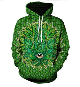 Hot Fashion Men Women 3D Sweatshirts Print Psychedelic Long Sleeve Autumn WInter Hooded Hoodies Unisex Tops Wholesale and Retail