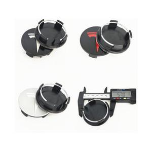 New 20pcs Outer Diameter 57mm TESLA MODEL X S 3 XWC1385-01 Wheel Center Cap Cover Emblem Logo Badge Auto Accessories