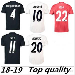 S-2XL Реал 2018 2019 футбол Джерси Модрич MARIANO Asensio Виниций JR BALE RAMOS 18 19 Реал Футбол Рубашка ISCO Camiseta