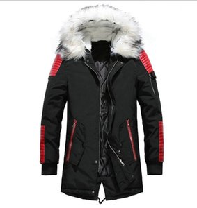 2020 High Quality Thick Warm Mens Winter Jacket Coat Big Fur Hooded Street Style Long Men Parka Casual Slim Male Outwear