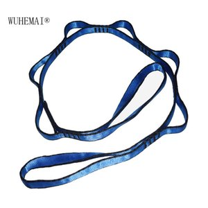 Anti gravity air yoga belt Yoga rope safety climbing chrysanthemum hammock special high strength mountaineering belt