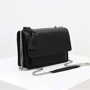 2020 sacs à main sac à rabat de haute qualité SUNSET femmes en cuir d'origine sacs à bandoulière sac moyen de mode crossbody