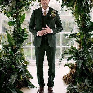 Trajes para hombres Blazers 2021 CUBIERTA CUSTAL PANTA DE PANTAL DE PANTAL DE LA BODA GREEN BODA DISPONIBLE AJUSTE HOMBRES PARA HOMBRES DE PIEZOS DE HOMBRE 3 Piezas (chaqueta + pantalón + chaleco)