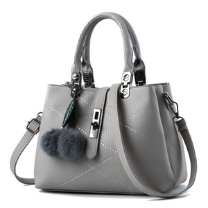 Lucky2019 Middle Phenanthrene Age Woman Mom Package Temperament Ma'am Handbag Single All-match Shoulder Small