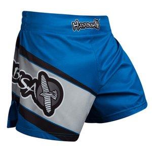 MMA para hombre Pantalones cortos de boxeo de los hombres ocasionales del verano sueltan GYM pantalón corto deportivo Hombre Ropa pantalons cortos dété vierte hommes libres shipping2020.
