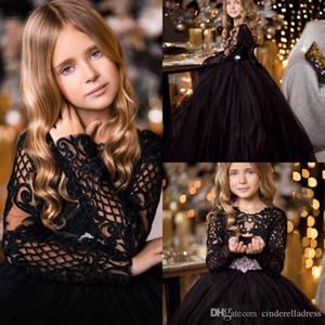 2020 Lovely Girl Abiti da principessa figlia del bambino Abbastanza bambini Pageant formale Prima Comunione Abiti
