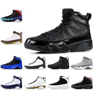 9 9s Мужские ботинки баскетбола Air Racer Blue Dream Do It UNC Space Jam OREGON DUCKS STATUE Jumpman Retro 9 Тренажёры Спорт Кроссовки
