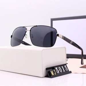 Men Women Driving Polarized Square Frame Sunglasses High Definition Resin Polarizing Lens 4 Colors