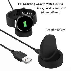 Для Samsung Galaxy Watch3 Active2 R820 R825 44 мм Беспроводной стенд Зарядка док-станции R500 R830 40 мм Зарядное устройство Active 2 R840 R850