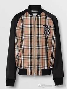 Nueva chaqueta europea de alta calidad para el otoño y el invierno, la línea de moda de lujo para la fiesta de desgaste de los hombres, tamaño M ~ 3XL # 015